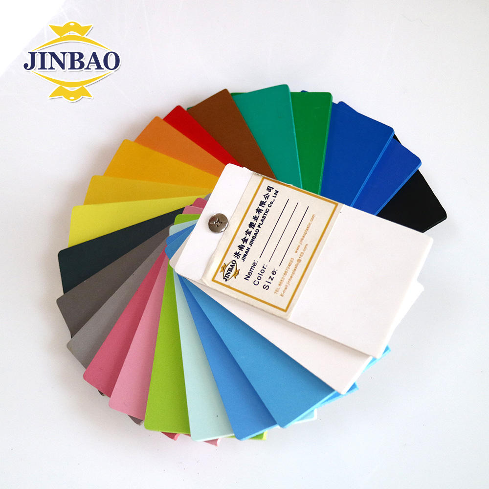 JINBAO hoja de acrilico extruded polyethylene foam rigid polyurethane foam prices factory pvc panel for wall