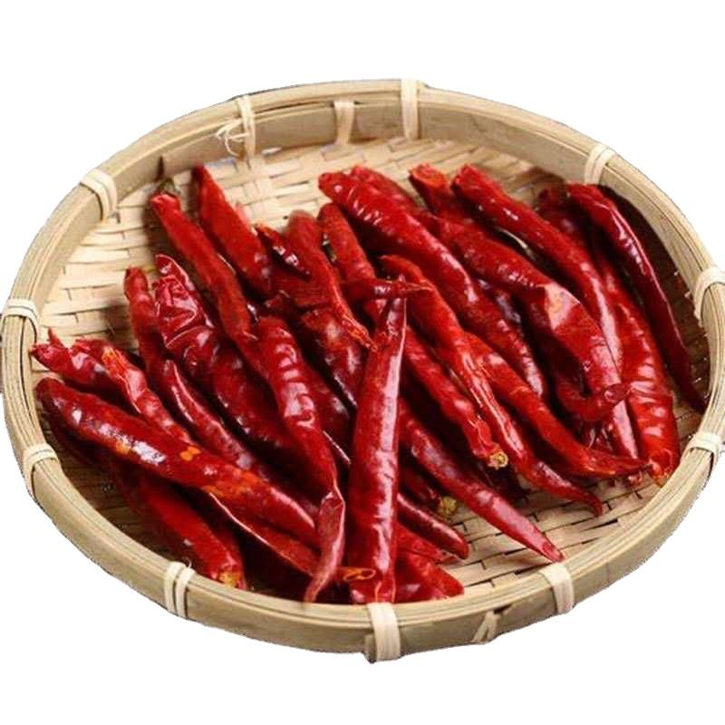 High Quality Yunnan Authentic Spicy Fragrant Teja Chili Dry Chili Flakes Dried Hot Red Qiubei Pepper Chili Seasoning Condiment