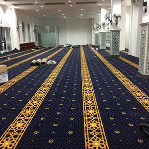 High Quality Traditional Style Mosque Hand Tufted Carpet