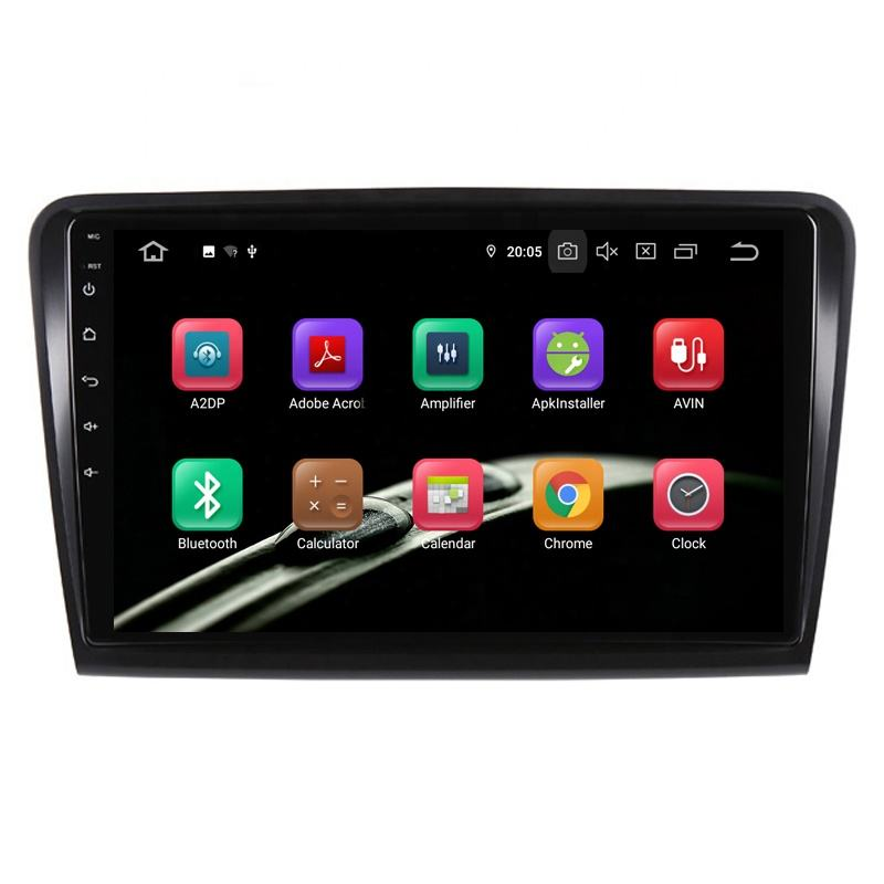 "Idoing 10.2 ""2.5D Car Android9.0 Multimedia Player Cho Skoda Tuyệt Vời 2008-2014 4 Gam + 64 Gam GPS Navigation <span class=keywords><strong>Phụ</strong></span> <span class=keywords><strong>Kiện</strong></span> Sedan Không Có Dvd 2din"