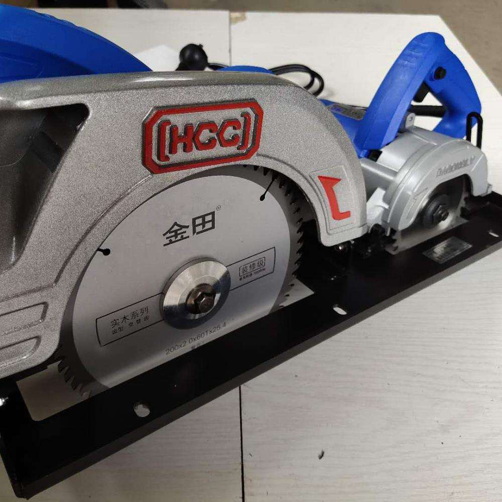 wood precision table panel saw with main saw and scoring saw blade 3000W woodworking for MDF