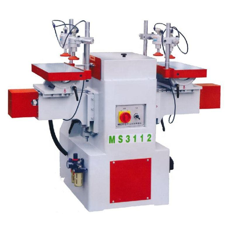 MS3112 woodworking double ends horizontal wood mortising machine