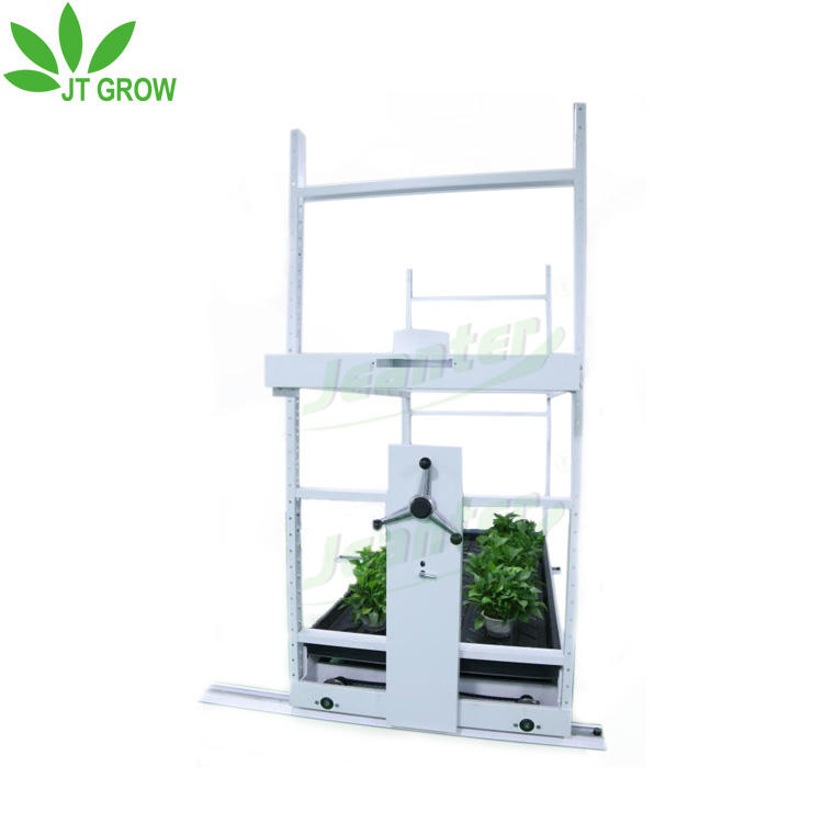 medical plants commecial grower US Canada metal multi level grow rack