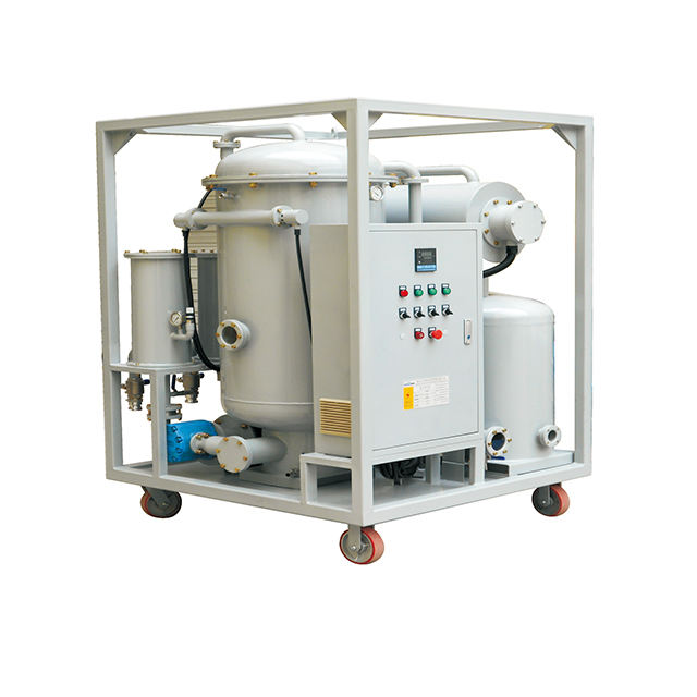 Vacuum pump oil flushing equipment used capacitor oil filter transformer oil dehydration purification machine