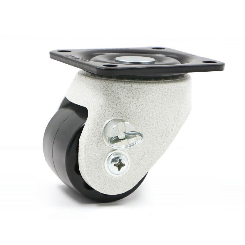 Furniture Caster [ Fixed Caster ] Low Profile Caster Low Profile Fixed Furniture Caster Wheel With Brake