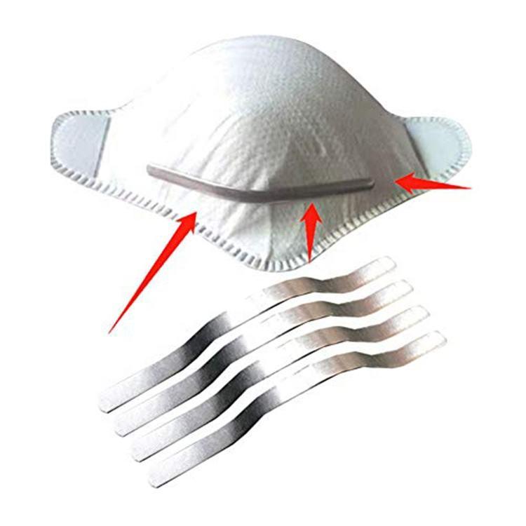 Алюминиевая полоса носовой проволоки для лица m ask переносица KN95 KF94 FFP2 n95 двойной переносицы