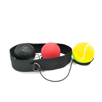PU Boxing Reflex Ball Headband For Fitness Fight Skill & Combat Sports Hand Eye Coordination Training Magic Ball