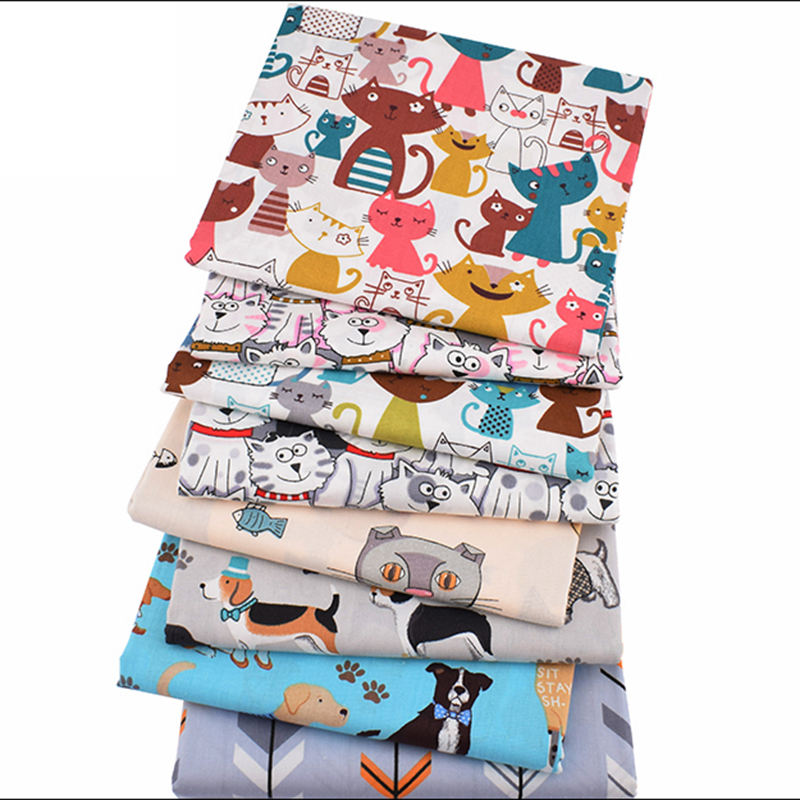 100% Cotton Cartoon Printed Fabric High Quality Home Textiles For Children Bedding
