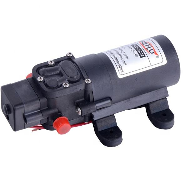 Sailflo FLO-2203 2.6lpm 70psi diaphragm pumps small battery 12v dc high pressure water pump