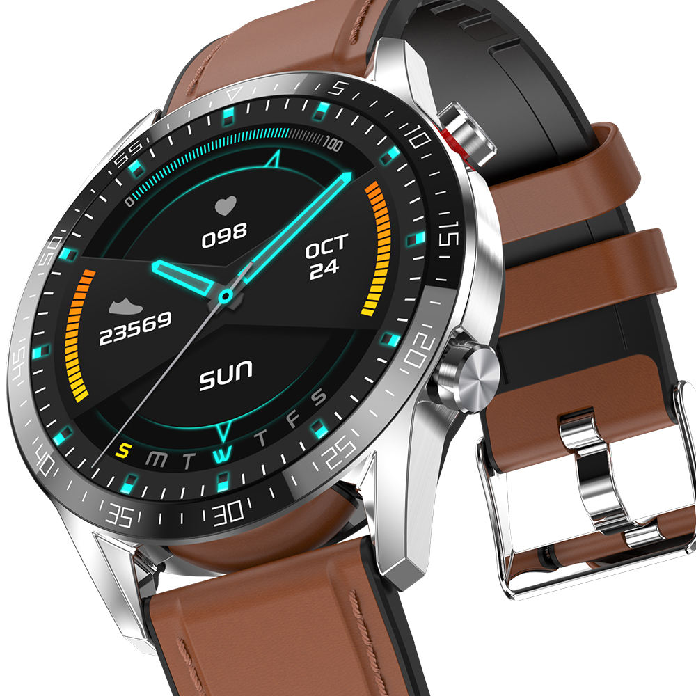 G5 2020 nuovi arrivi Relojes intelligente BT smartwatch sport ip68 impermeabile intelligente orologio Marrone