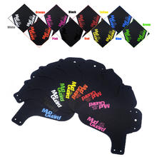 Colorful MTB Road Bike Mud Flaps Cycling Bicycle Wings Front Bicycle Mudguard