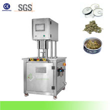 Manual Tin Can Vacuum Nitrogen Canning Sealing Machine for Weeds