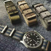 JUELONG Nato Strap  High  Quality Herringbone 20mm 22mm Bracelet WatchBands For OMG Watches Premium Nato Watch Straps
