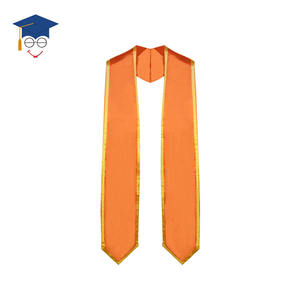 Graduation Classic Stole with Trim Graduation Trim Stole