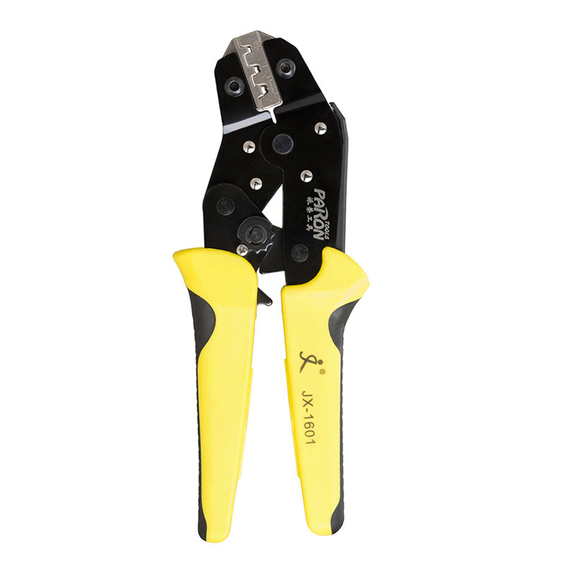 PARON JX 1601-08 Ratcheting Clamp Tools Terminals ferrule AWG26-16 0.14-1.5mm2 Wire Crimper Tools Terminal Crimping Pliers