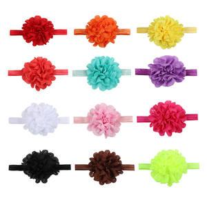 Fashion children hair accessories baby hollow elastic hair band mesh headband