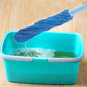 Promotional Convenient Durable 120cm Household Clean Floor Microfibre Magic Twist Blue Spray Mop By Online
