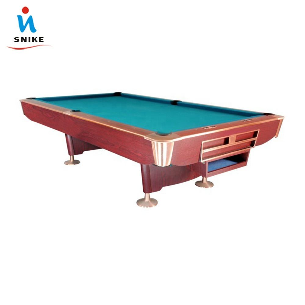 Factory Direct Sale Cheap customizable Solid Wood 30mm Slate K55 Rubber 8ft 9ft Billiard Table