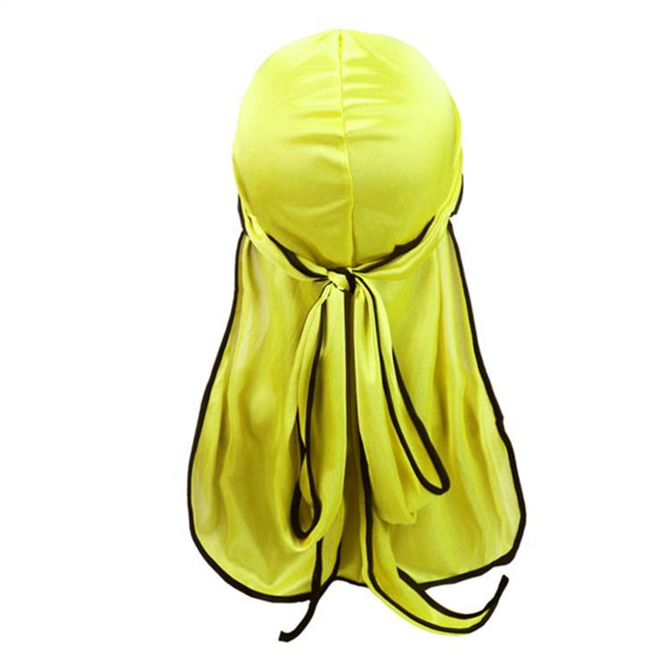 Durag en soie multicolore de styliste, vente directe, Amazon, nouvelle collection