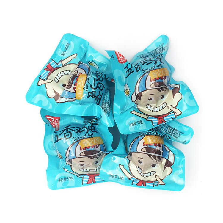 China wholesale sales supplier salted baked snacks eggs