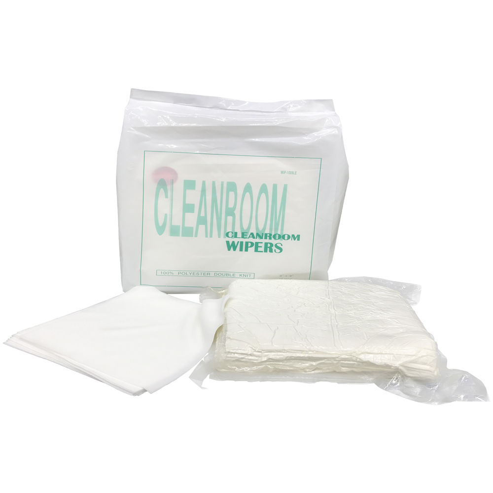 100% polyester sterile cleanroom wipe for pharmaceutical factory