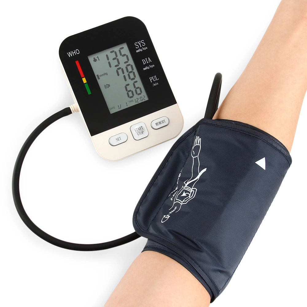 High Quality Good Price reading blood pressure monitor audio blood pressure monitor For Citizen and Hospital