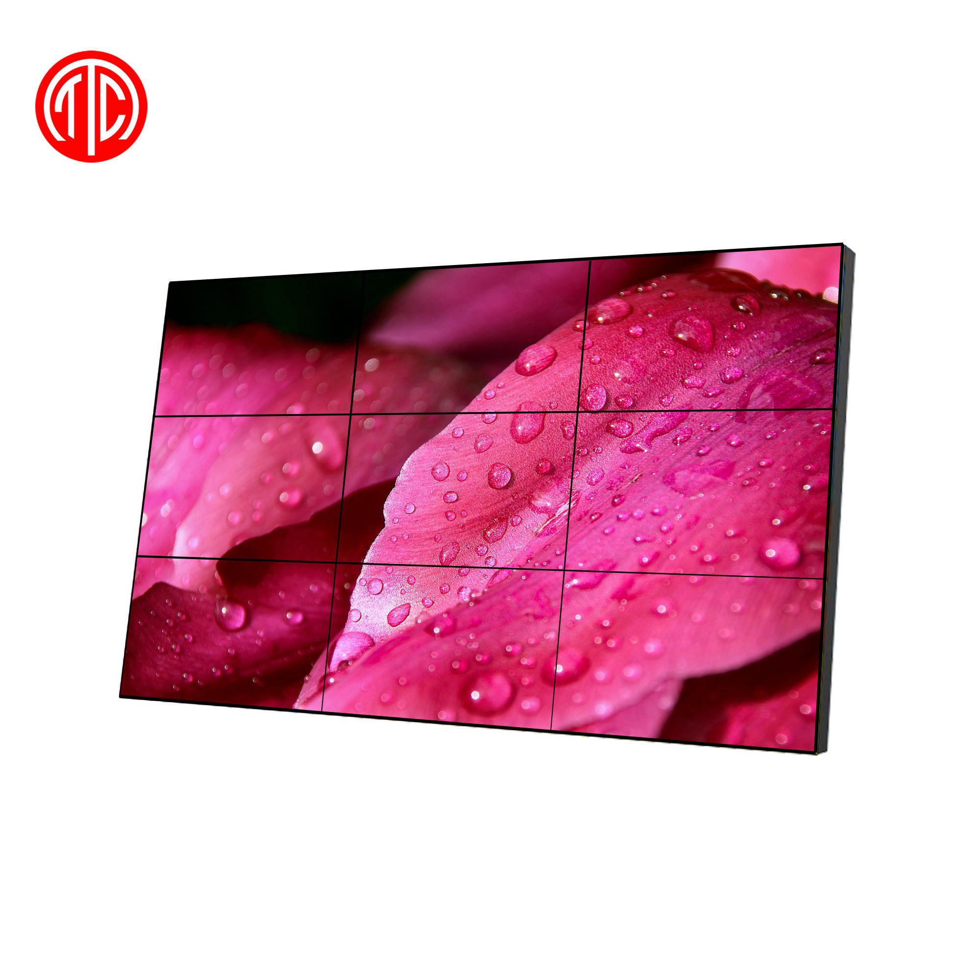 2*2 49 pollici poco costoso android di rete video wall controller pubblicità display a cristalli liquidi