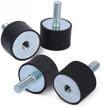 male and female screw Rubber Vibration Mounts Shock Absorber