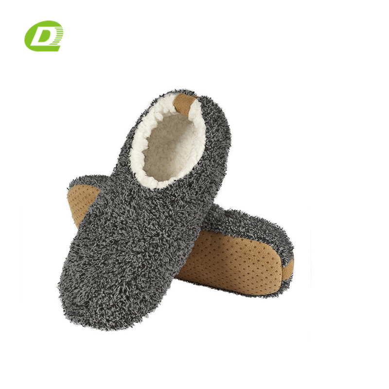DQ-B591 sock shoes mens house shoe slipper indoor floor room socks for men