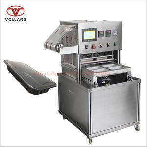 vacuum tray sealer/Modified atmosphere packaging machine/MAP tray sealing machine