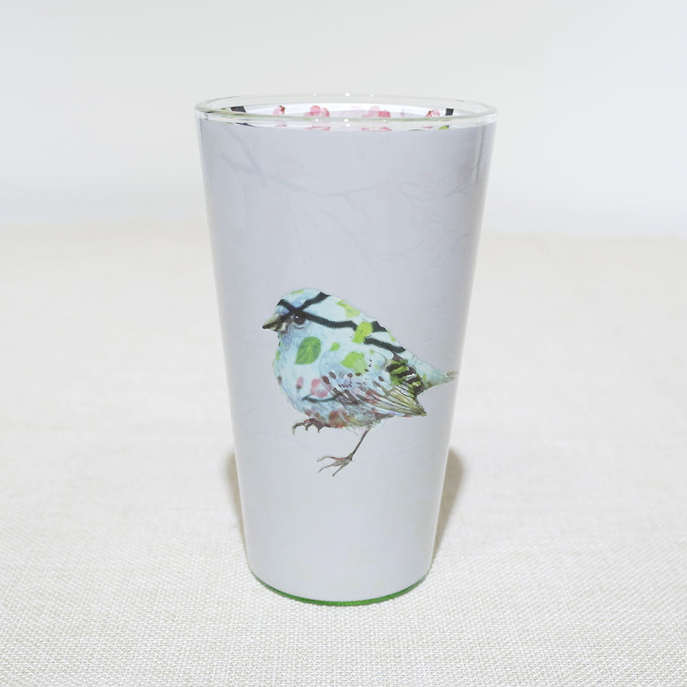 16 Oz Bird Animal Pint Glas Met Dubbelzijdig Printen Sticker Volledige Wrap Gift Collection