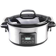 5.5L Electric Slow Cooker with LCD Digital Display