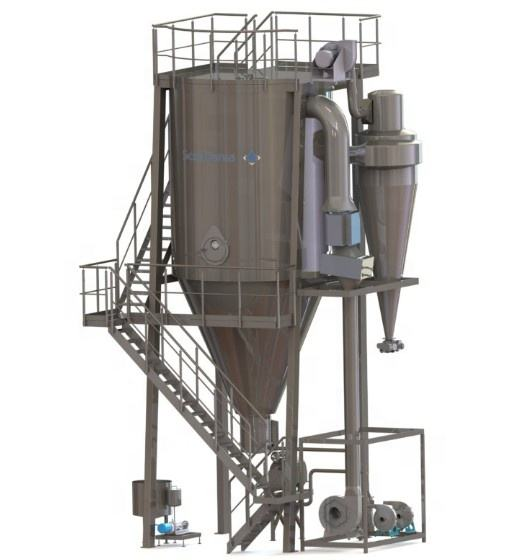 LPG150 China powder spray drying machine / spray drying tower detergent powder plant /spray dryer price