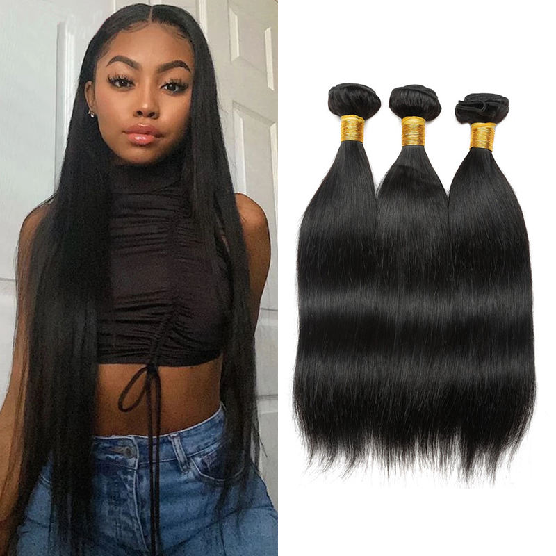 New Arrival Natural Brazilian Human Virgin Hair Bundles Vietnam Beauty Stage Hair Remy Straight Weave Human Hair Extension