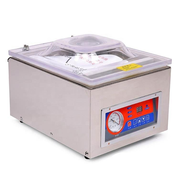 DUOQI DZ-260C China single chamber vacuum food sealer coffee bag vacuum sealing machine