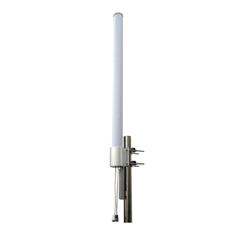 Outdoor wifi 5Ghz 12x2dBi mimo omnidirectional fiberglass Antenna