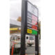 Hot sell TOTEM 18 inch gas sign price display LED gas price changer LED price number display