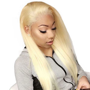 unprocessed russian blonde 613 hair extensions vendors virgin brazilian vietnam cuticle aligned raw virgin hair