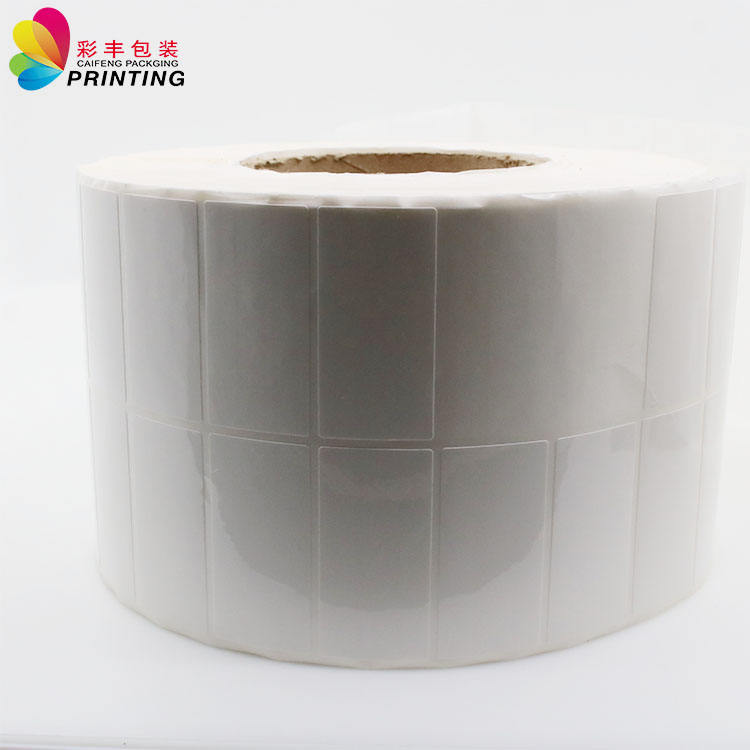 Barcode Custom Blank Thermal Label Adhesive Thermal Sticker Roll Custom Barcode Thermal Sticker Roll