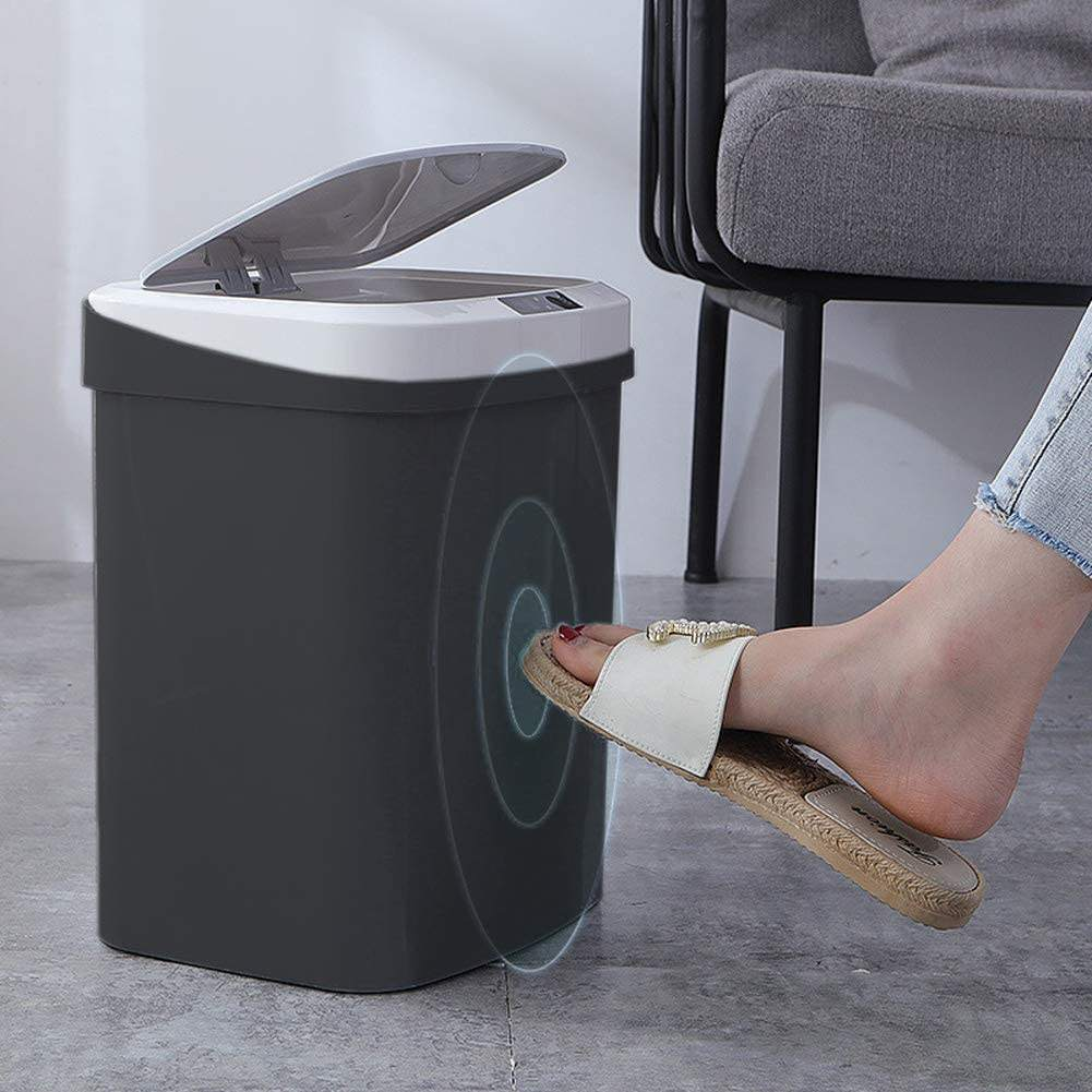 Smart Automatic Induction Rubbish Can Electric Touchless Trash Can Waste Bin