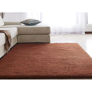 Customized solid color Floor Rugs Soft Fluffy shaggy carpets for living room carpet