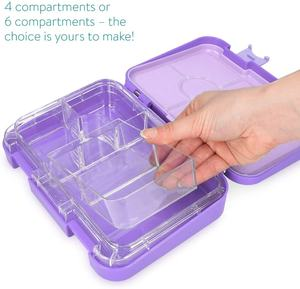 Dongguan Aohea Microwave Heated Plastic Tritan Bento Tiffin Box Food Storage Container BPA FREE Non-toxic Kids Lunch Box