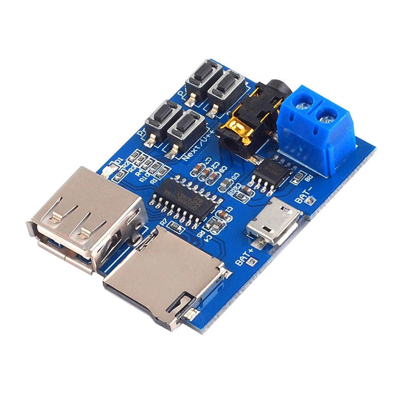 Mp3 lossless decoder board TF Card U Disk Format MP3 Decoder Player Board Amplifier Audio Module