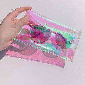 Factory Price Cheap eyeglass plastic case custom clear sunglass cases
