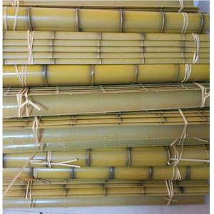 No Rot Artificial Bamboo Pipe Sticks full round rods synthetic plastic bamboo poles for theme park fish tanks aquarium