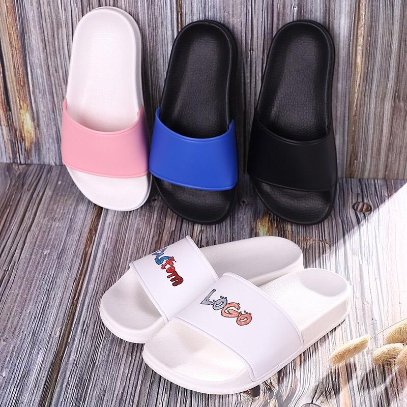 2019 wholesale pink EVA custom logo kids and Children slippers, outdoor and indoor boy and girl slide slippers sandals