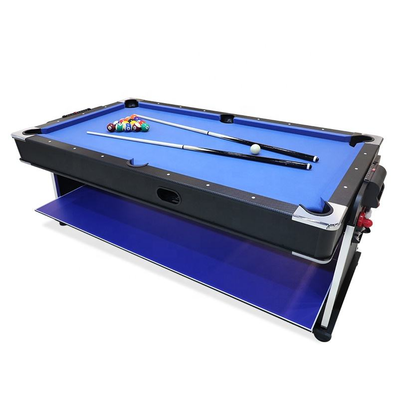 7FT 4 in 1 Multi Game Table Set Billiard table/ air hockey/pingpong/dinning Table
