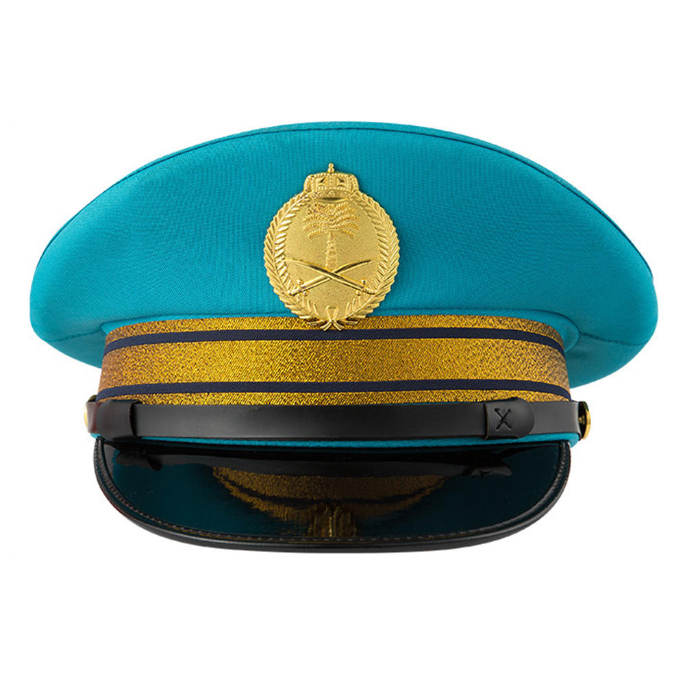 Vrouw Militaire Cap Security Uniform Cap Politieman Bolhoed