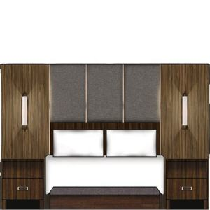 hospitality hilton decorative hotel lobby high end quality hotel headboards double bedroom furniture