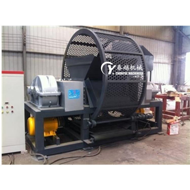 Tire Recycling Machine ruber tyre shredder for sale in India